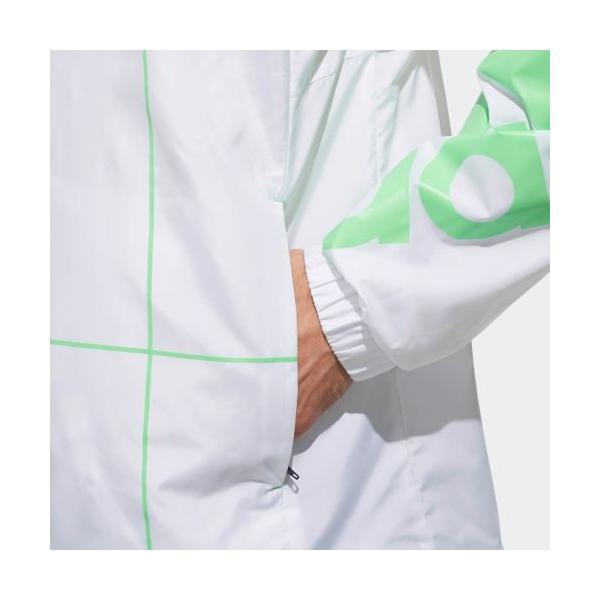 アウトレット価格 アディダス公式 ウェア アウター adidas UNISEX RULE#9 ウインドジャケット 裏メッシュ adidas 08