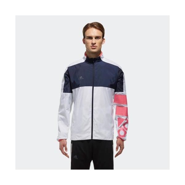 セール価格 アディダス公式 ウェア アウター adidas MEN / UNISEX RULE#9 ウインドジャケット 裏起毛 CLUB PLAYER adidas