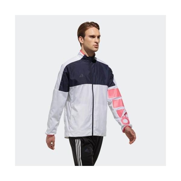 セール価格 アディダス公式 ウェア アウター adidas MEN / UNISEX RULE#9 ウインドジャケット 裏起毛 CLUB PLAYER adidas 04