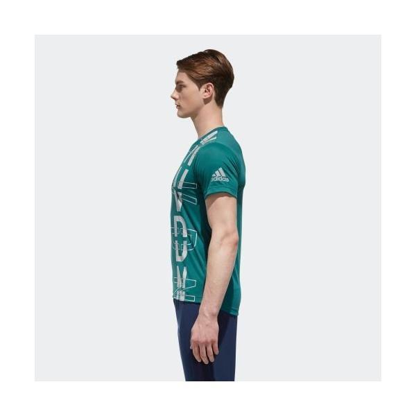 セール価格 アディダス公式 ウェア トップス adidas M4T フリーリフトNVDNグラフィックTシャツ|adidas|02