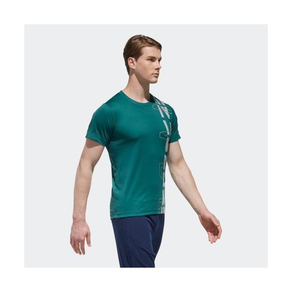 セール価格 アディダス公式 ウェア トップス adidas M4T フリーリフトNVDNグラフィックTシャツ|adidas|04