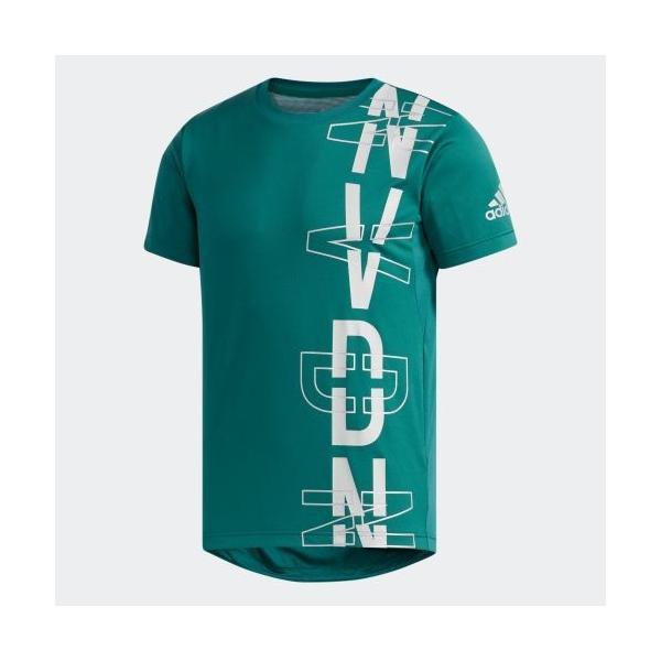 セール価格 アディダス公式 ウェア トップス adidas M4T フリーリフトNVDNグラフィックTシャツ|adidas|05