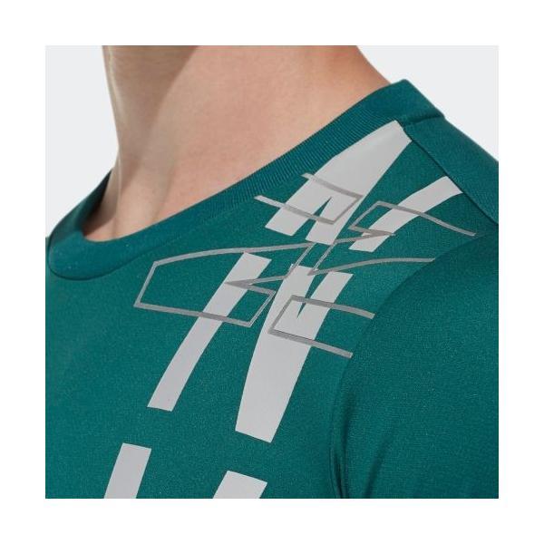 セール価格 アディダス公式 ウェア トップス adidas M4T フリーリフトNVDNグラフィックTシャツ|adidas|07
