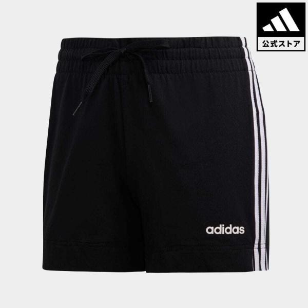 全品ポイント15倍 07/19 17:00〜07/22 16:59 返品可 アディダス公式 ウェア ボトムス adidas W 3ストライプス ショートパンツ|adidas