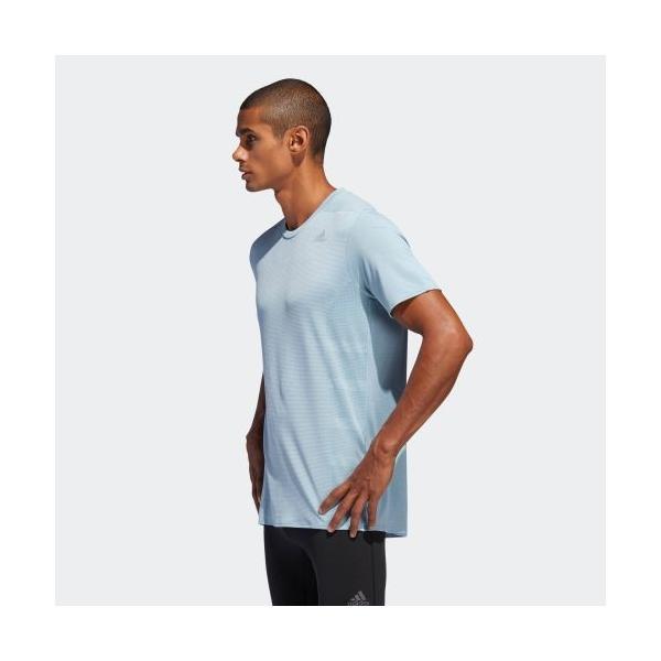 全品ポイント15倍 09/13 17:00〜09/17 16:59 セール価格 アディダス公式 ウェア トップス adidas Snova リフレクト半袖Tシャツ adidas 02