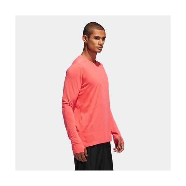 全品ポイント15倍 09/13 17:00〜09/17 16:59 セール価格 アディダス公式 ウェア トップス adidas Snova 長袖TシャツM|adidas|04
