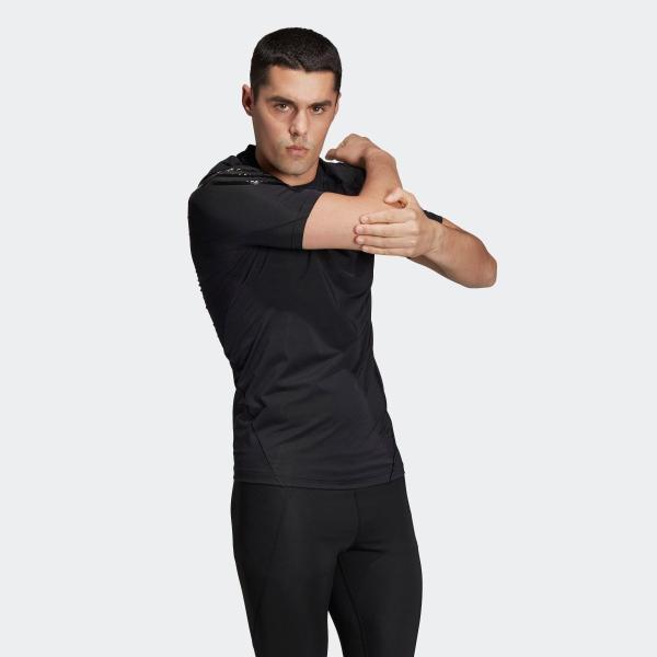 返品可 アディダス公式 ウェア トップス adidas アルファスキン アスリート スリーストライプスショートスリーブTシャツ|adidas|04