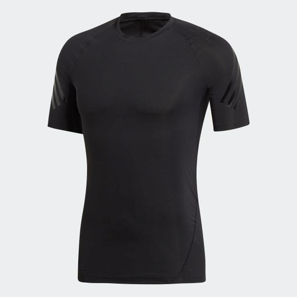 返品可 アディダス公式 ウェア トップス adidas アルファスキン アスリート スリーストライプスショートスリーブTシャツ|adidas|05