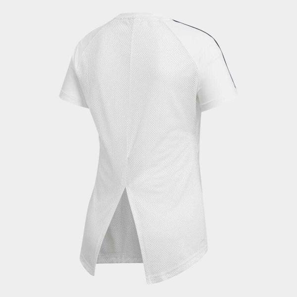 全品送料無料! 08/14 17:00〜08/22 16:59 返品可 アディダス公式 ウェア トップス adidas W CORE D2M 半袖Tシャツ 3ストライプス adidas 02
