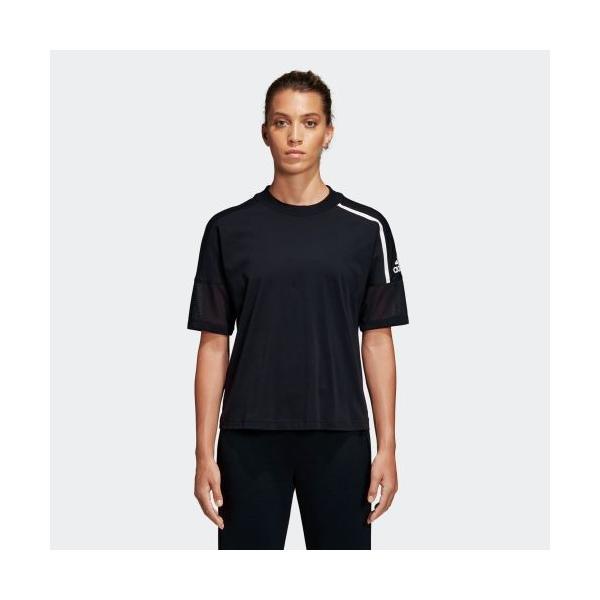全品ポイント15倍 07/19 17:00〜07/22 16:59 セール価格 アディダス公式 ウェア トップス adidas W Z.N.E. 半袖 Tシャツ|adidas