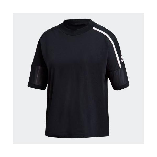 全品ポイント15倍 07/19 17:00〜07/22 16:59 セール価格 アディダス公式 ウェア トップス adidas W Z.N.E. 半袖 Tシャツ|adidas|05