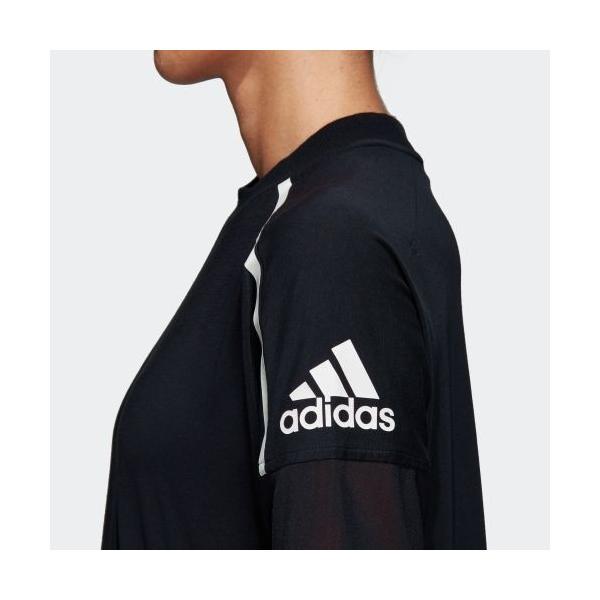 全品ポイント15倍 07/19 17:00〜07/22 16:59 セール価格 アディダス公式 ウェア トップス adidas W Z.N.E. 半袖 Tシャツ|adidas|09