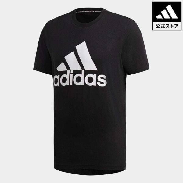 全品ポイント15倍 07/19 17:00〜07/22 16:59 返品可 アディダス公式 ウェア トップス adidas MUSTHAVES BADGE OF SPORTS Tシャツ|adidas