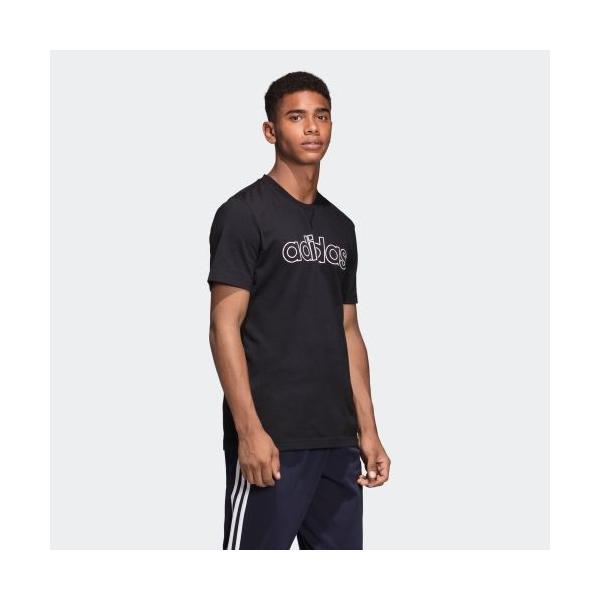 全品送料無料! 6/21 17:00〜6/27 16:59 セール価格 アディダス公式 ウェア トップス adidas M CORE ラインドリニア Tシャツ|adidas|04