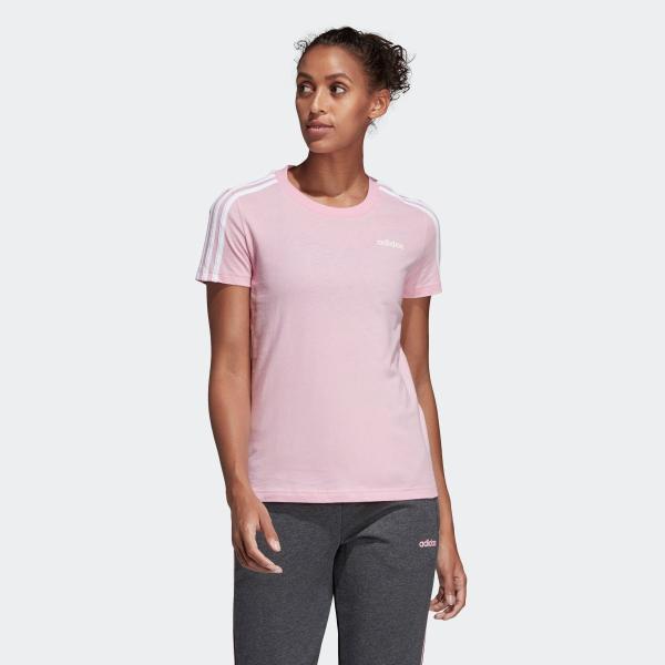 期間限定 さらに40%OFF 8/22 17:00〜8/26 16:59 アディダス公式 ウェア トップス adidas W 半袖 3スト Tシャツ adidas