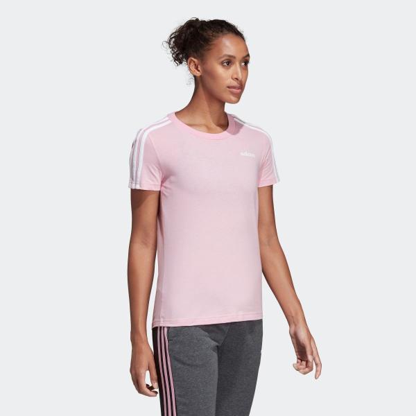 期間限定 さらに40%OFF 8/22 17:00〜8/26 16:59 アディダス公式 ウェア トップス adidas W 半袖 3スト Tシャツ adidas 04