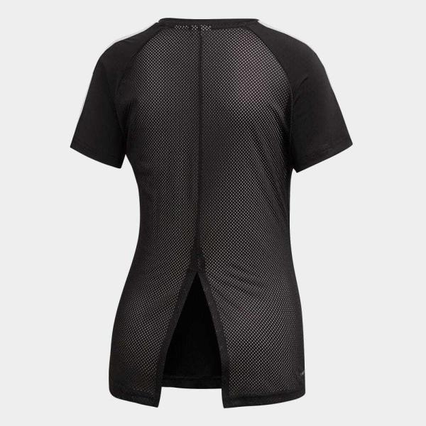 返品可 アディダス公式 ウェア トップス adidas W CORE D2M 半袖Tシャツ 3ストライプス adidas 02