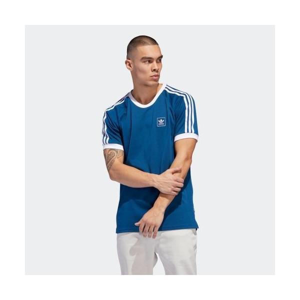 返品可 アディダス公式 ウェア トップス adidas スリーストライプ 半袖 Tシャツ|adidas