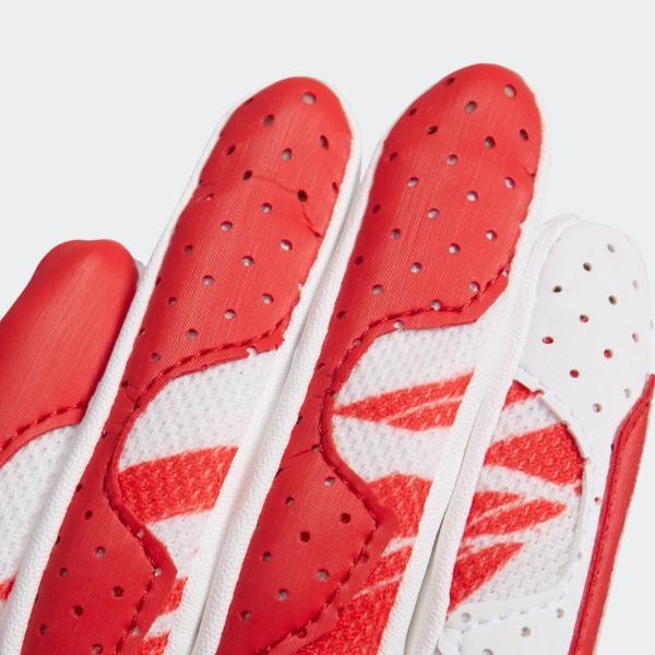 返品可 アディダス公式 アクセサリー プロテクター adidas 子供用 バッティンググラブ|adidas|04