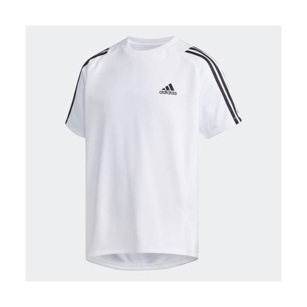 セール価格 アディダス公式 ウェア トップス adidas B TRN スリーストライプス Tシャツ|adidas
