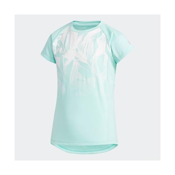 全品送料無料! 08/14 17:00〜08/22 16:59 セール価格 アディダス公式 ウェア トップス adidas G TRN ボタニカルグラデーション Tシャツ adidas