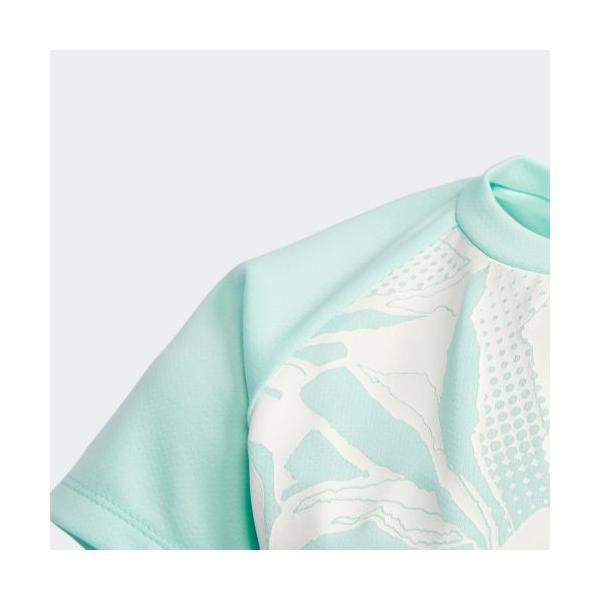 全品送料無料! 08/14 17:00〜08/22 16:59 セール価格 アディダス公式 ウェア トップス adidas G TRN ボタニカルグラデーション Tシャツ adidas 05