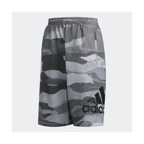 全品ポイント15倍 07/19 17:00〜07/22 16:59 セール価格 アディダス公式 ウェア ボトムス adidas B MH ライトスウェット ハーフパンツ CAMO|adidas