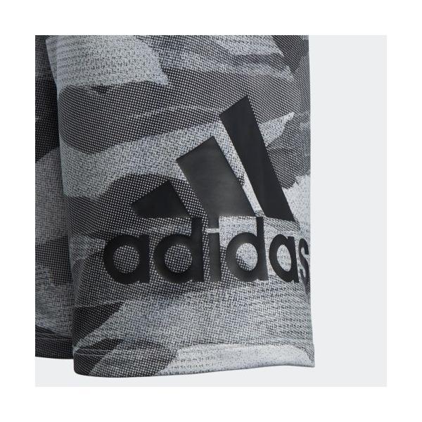 全品ポイント15倍 07/19 17:00〜07/22 16:59 セール価格 アディダス公式 ウェア ボトムス adidas B MH ライトスウェット ハーフパンツ CAMO|adidas|04