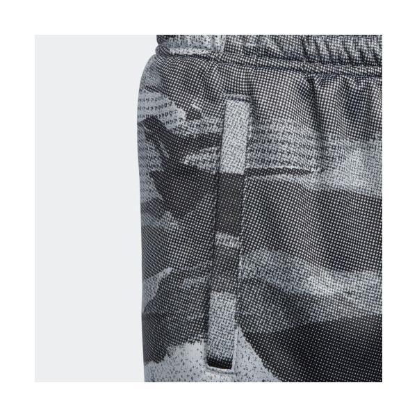全品ポイント15倍 07/19 17:00〜07/22 16:59 セール価格 アディダス公式 ウェア ボトムス adidas B MH ライトスウェット ハーフパンツ CAMO|adidas|05