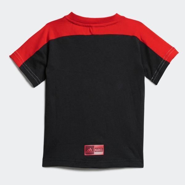 全品ポイント15倍 07/19 17:00〜07/22 16:59 セール価格 アディダス公式 ウェア セットアップ adidas マーベル / スパイダーマン Tシャツ&ロークロッチパ…|adidas|03