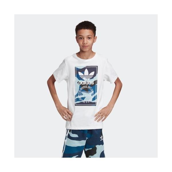 全品ポイント15倍 07/19 17:00〜07/22 16:59 31%OFF アディダス公式 ウェア トップス adidas カモ柄Tシャツ|adidas
