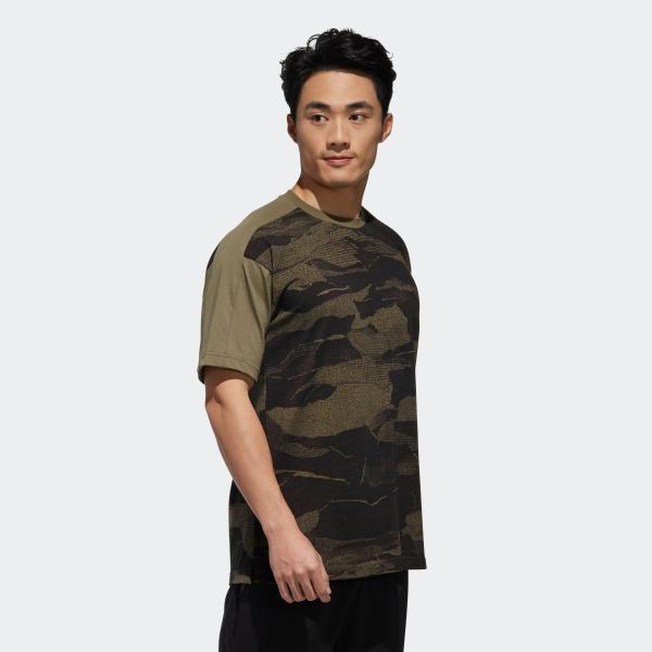 セール価格 アディダス公式 ウェア トップス adidas M S2S CAMOグラフィック Tシャツ|adidas|04