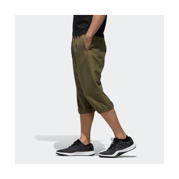 セール価格 アディダス公式 ウェア ボトムス adidas M MUSTHAVES ベーシック タッサー3/4パンツ|adidas|02