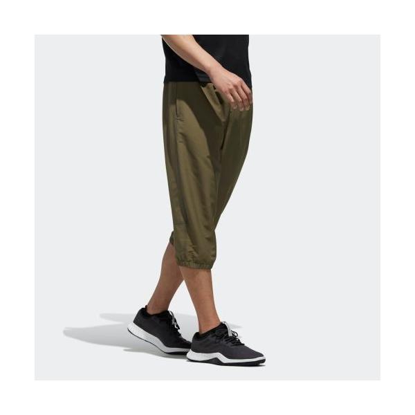 セール価格 アディダス公式 ウェア ボトムス adidas M MUSTHAVES ベーシック タッサー3/4パンツ|adidas|04
