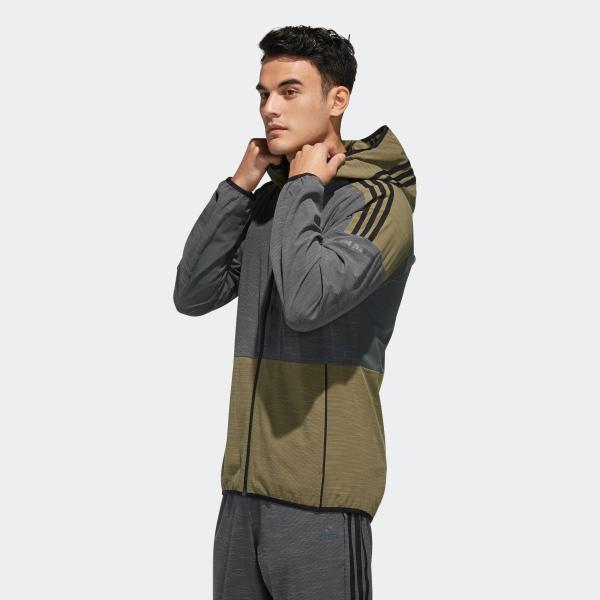 全品ポイント15倍 07/19 17:00〜07/22 16:59 セール価格 アディダス公式 ウェア アウター adidas M adidas 24/7 ストレッチライトウーブンフルジップパーカー|adidas|02