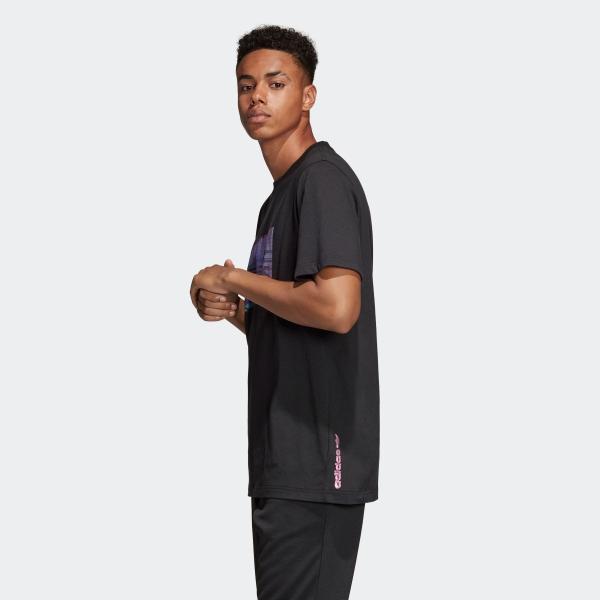 返品可 アディダス公式 ウェア トップス adidas 3D TREFOIL TEE|adidas|02
