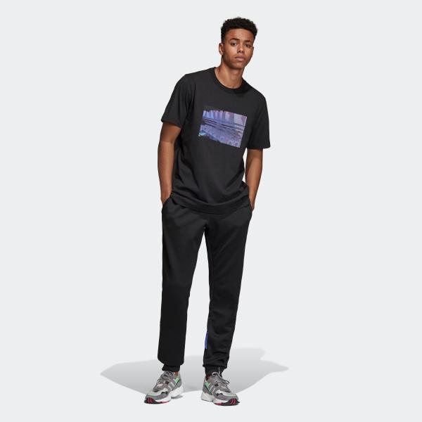 返品可 アディダス公式 ウェア トップス adidas 3D TREFOIL TEE|adidas|05