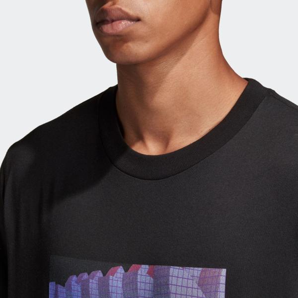 返品可 アディダス公式 ウェア トップス adidas 3D TREFOIL TEE|adidas|08