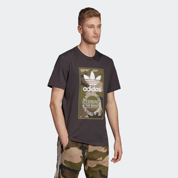 セール価格 アディダス公式 ウェア トップス adidas CAMO TEE|adidas|04