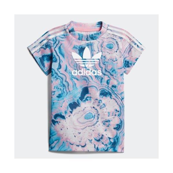 全品ポイント15倍 07/19 17:00〜07/22 16:59 セール価格 アディダス公式 ウェア セットアップ adidas MARBLE TEE SET|adidas|02