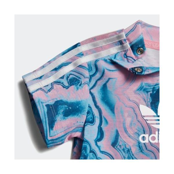 全品ポイント15倍 07/19 17:00〜07/22 16:59 セール価格 アディダス公式 ウェア セットアップ adidas MARBLE TEE SET|adidas|06