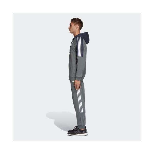 セール価格 アディダス公式 ウェア セットアップ adidas M MUSTHAVES スウェットパーカートラックスーツ|adidas|02