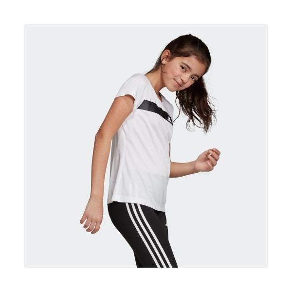 期間限定 さらに40%OFF 8/22 17:00〜8/26 16:59 アディダス公式 ウェア トップス adidas YG TR COOL TEE adidas 04