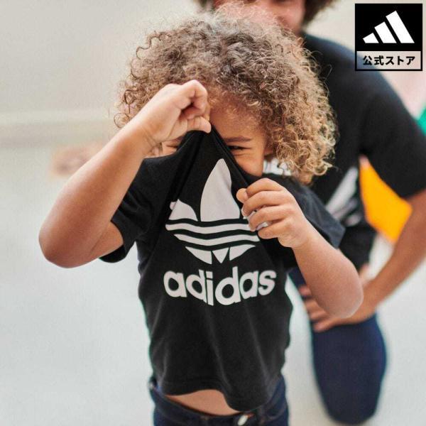 返品可 アディダス公式 ウェア トップス adidas トレフォイルTシャツ adidas
