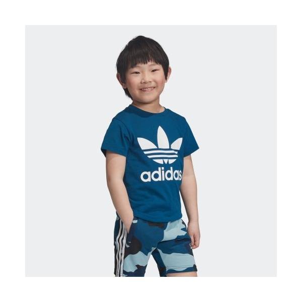 期間限定 さらに40%OFF 8/22 17:00〜8/26 16:59 アディダス公式 ウェア トップス adidas トレフォイルTシャツ adidas 04