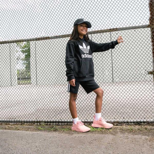 返品可 アディダス公式 ウェア トップス adidas TREFOIL HOODIE|adidas|02