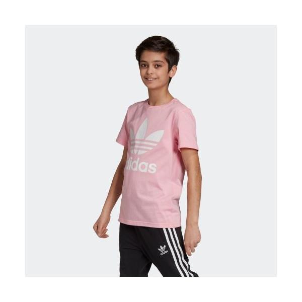 返品可 アディダス公式 ウェア トップス adidas トレフォイルTシャツ|adidas|02