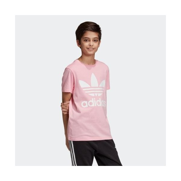 返品可 アディダス公式 ウェア トップス adidas トレフォイルTシャツ|adidas|04