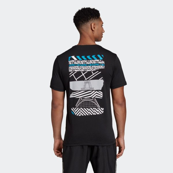 セール価格 アディダス公式 ウェア トップス adidas PARIS グラフィック Tシャツ|adidas|03