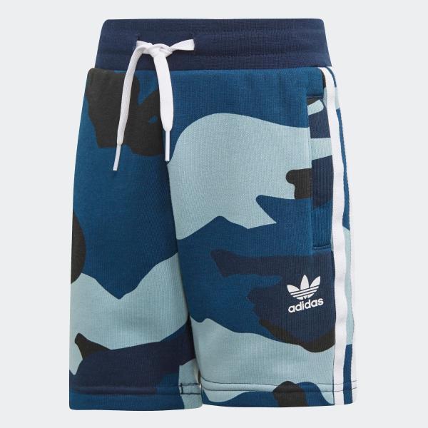 返品可 アディダス公式 ウェア セットアップ adidas カモ柄半袖Tシャツ&ショーツ 上下セット|adidas|08